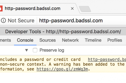 not-secure-warning